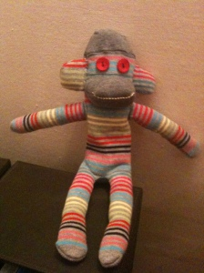 Stripey Sock Monkey